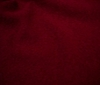 dark red NOBLE FULLED LODEN FABRIC 620g 100% WOOL