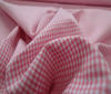 Pink Patchwork Cotton Fabric Vichy 2mm