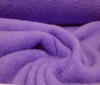 lilac Blend Mohair Teddy plush wool coat soft grip fabric