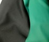 black ~ green Doubleface Stretch Neoprene Fabric