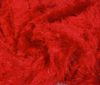 red Mongolian Shaggy Fake Fur fabric